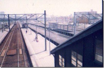 昔の桑園駅構内