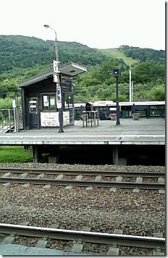 トマム駅ホーム