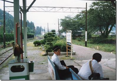 谷汲駅ホーム