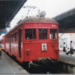 忠節駅と名鉄700型