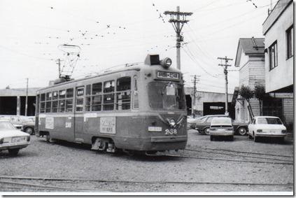 札幌市電230型238号